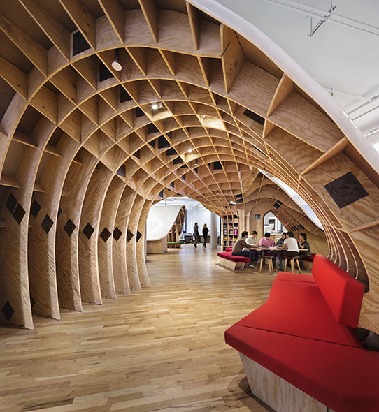 The Barbarian Group, Clive Wilkinson Architects