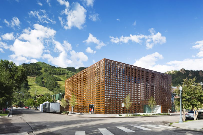 Aspen Art Museum, Shigeru Ban Architects
