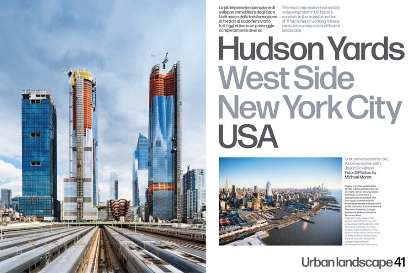 Hudson Yards photographed for the May 2018 issue of Domus
