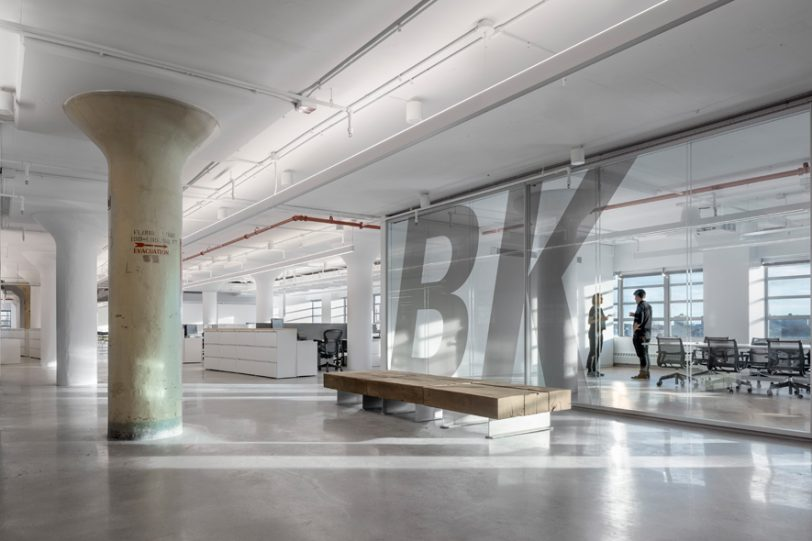 Brooklyn Navy Yard Development Corporation Offices by Smith-Miller + Hawkinson Architects LLP wins 2019 World Architecture Design Award First Award in the Office Corporate category