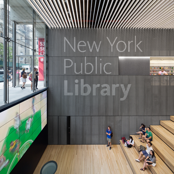 New York Public Library 53rd Street Branch by TEN Arquitectos wins 2019 AIANY Design Award