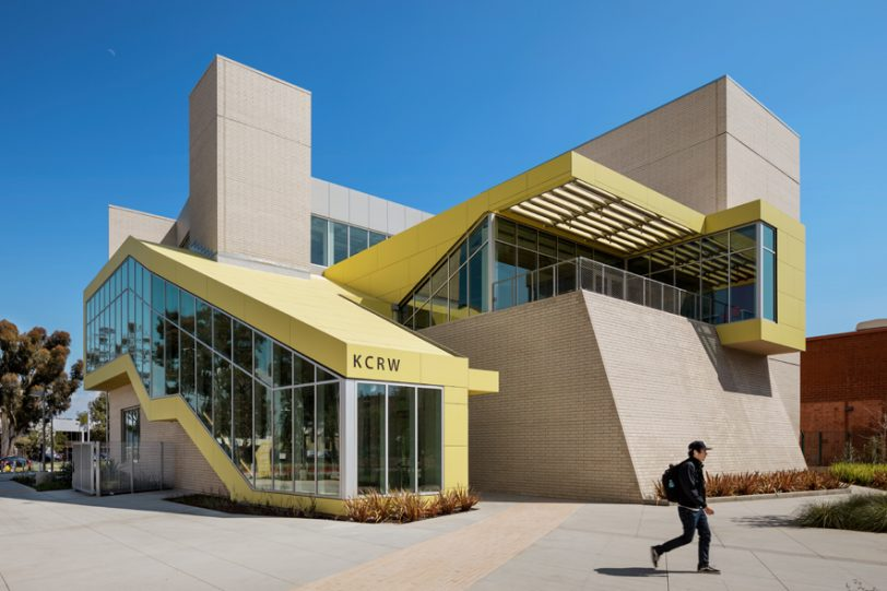 Santa Monica College by Clive Wilkinson Architects featured on Dezeen