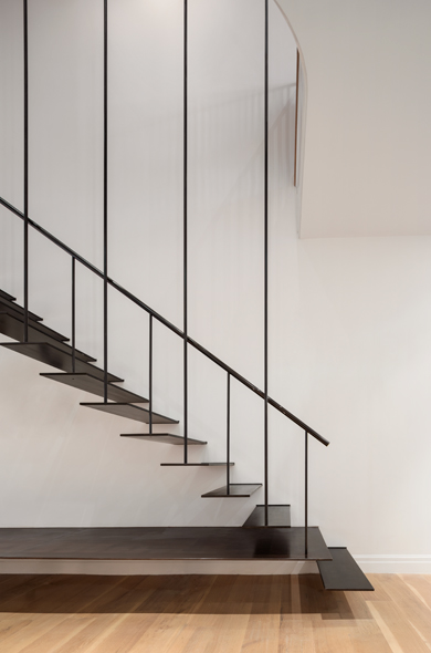 Suspended Stair by O'Neill Rose Architects wins 2019 ARCHITECT Magazine Residential Architect Design Award