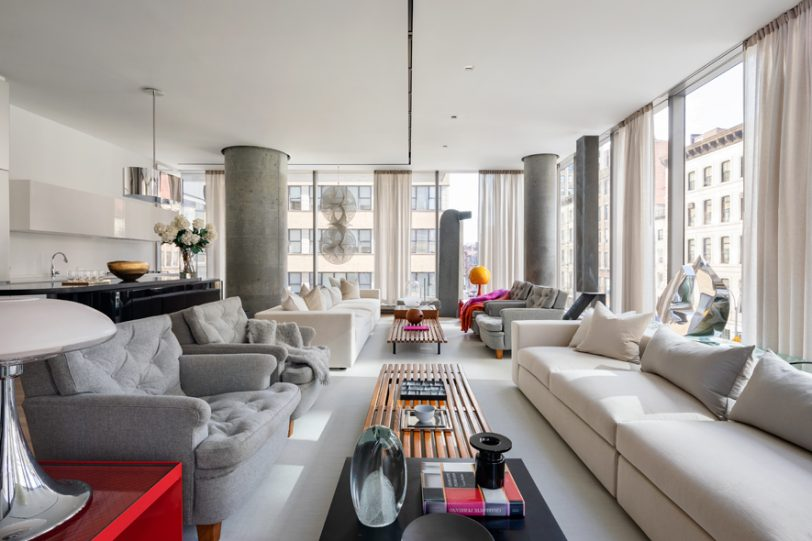56 Leonard by SheltonMindel wins 2019 Interior Design Best of Year Award for Large Apartment