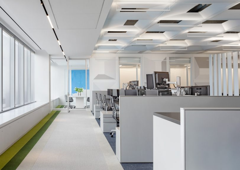 Soros Capital Management by SheltonMindel wins 2019 Interior Design Best of Year Award for Small Corporate Office
