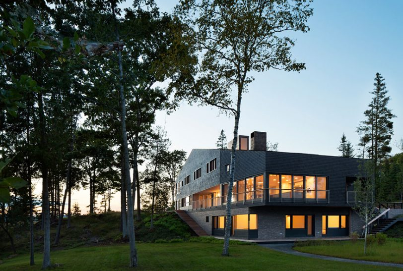 Islesboro Residence, Boathouse & Studio by Andrew Berman Architect featured on ArchDaily